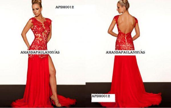 Vestido De Formatura Apdm0012 Aluguel Amanda Paula Noivas